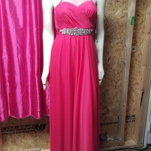 NWT Peach colored formal gown
